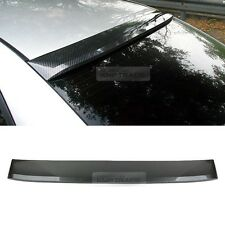 Carbon Black Rear Window Roof Spoiler Visor Molding For HYUNDAI 2006-2010 Sonata