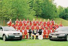 Mannschaft Audi Bayern München 2003-04 seltenes Foto