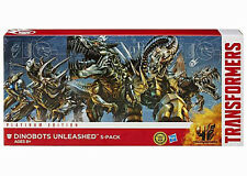 Transformers Age of Extincion Platinum Edition Dinobots Unleashed 5 Pack Set