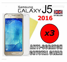 3x HQ ULTRA CLEAR HD SCREEN PROTECTOR COVER GUARDS FOR SAMSUNG GALAXY J5 2016