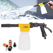 Snow Foam Gun Lance Auto Car Pre Wash Spray Water Fit Garden Hose TECHNIC