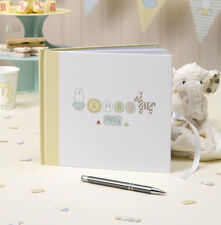 BABY MIFFY GUEST BOOK  - Baby Shower Party Supplies Neutral