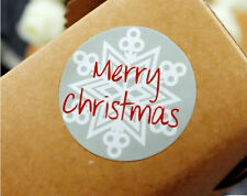 MERRY CHRISTMAS Stickers XMAS Tree Labels Seals Stickers Decoration Gift 75 pcs