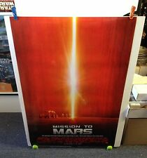 MISSION TO MARS Movie Poster 27x40 One Sheet / Double Sided **Rolled** DePalma