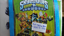 SKYLANDERS SWOP FORCE FULL SET OF STICKERS X364
