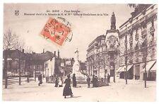 CPA 21 - DIJON (Côte d'Or) - 134. Place Grangier - Monument élevé à la mémoire