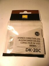 Nikon  DK-20C-4 Official Eyepiece Diopter Correction Lens Auxiliary -4.0 JP F/S