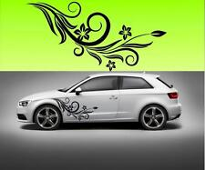 (f5)BIG 95cm x 62cm flowers car vinyl  STICKER DECAL VAN CAR COLOUR DUB JDM