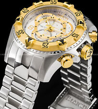 Invicta Reserve Excursion Touring Swiss ETA Chronograph 18K Gold IP Tachy Watch