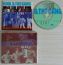 RARE CD ALBUM GREATEST HITS LIVE - KOOL AND THE GANG 14 TITRES