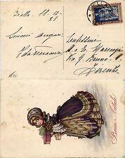REGNO-20 cent EMANUELE FILIBERTO DENT.11(226)-Cartolina Biella 19.12.1928