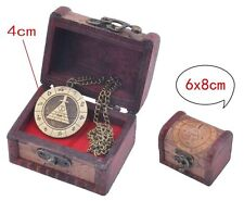 Gravity Falls Bill Cipher Necklace With Jewelry Box Anime BOSS Wood Display Box