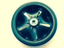NEW GENUINE HAYTER SPIRIT 41 PETROL AND ELECTRIC  LAWNMOWER FRONT WHEEL