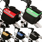 Bike Bicycle Cycling Frame Pannier Saddle Front Tube Bag Both Side Double Pouch
