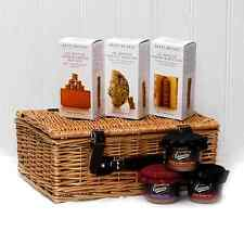 Crackers & Pâté | Wicker Birthday Gift Hamper Basket | Her Him Mum Dad Presents