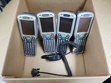 Lot of 4 Hand Held Products Dolphin 9551 Popcket PC Hand Held Barcode Scanner