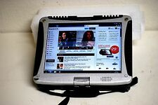 Panasonic Toughbook CF19  Windows 7 Pro Touch Screen GPS 250gb Wireless Tablet