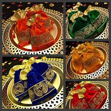 10* Assorted Mehndi Bid Bags Wedding Table Decoration Party Favour Gift Bags