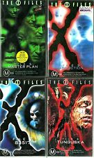 X-Files VHS Bundle: 4 Genuine 90s Sets. New & Sealed! RARE.