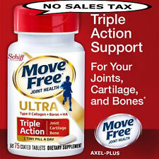 Schiff  Move Free Ultra, 75 Tablets NEW Formula