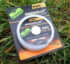 Fox Edges Armadillo Dark Camo 30LB Shock And Snag Leader