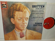 ASD 4177 Britten Young Apollo Canadian Carnival 4 French Songs Scottish Ballad