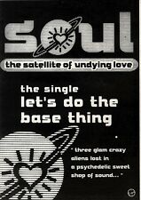 10/8/91 Pgn18 Advert: Soul New Single lets Do The Base Thing On Virgin 7x5