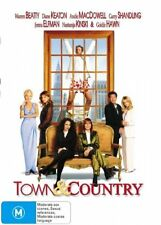 Town And Country (DVD, 2001)EX RENTAL DISC ONLY CAN POST FOUR DISCS FOR $1.40