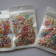 20g/bag #87 Mix Pearls Deco Cute Decoration Nail Art Decoration