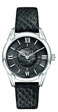 Versace Women's VFF010013 Dafne Stainless Steel Dress Swiss Watch Leather Band