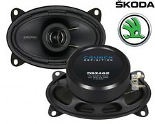 CRUNCH 6x4 COAXIAL SPEAKERS FOR SKODA Octavia (1U) Kombi - 96-12/09