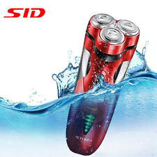 SID SA7251 3D Rechargeable Body Washable Men's Cordless Electric Shaver Razor