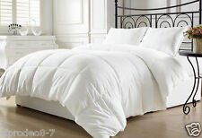 White Down Alternative Comforter Duvet IN QUEEN/KING CHECKER STITCHED ALL NEW