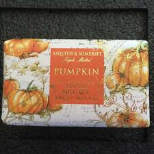 2 Castelbel Luxurious Scented Bath Bar Soap Pumpkin Patch Wrapped Gift Paper