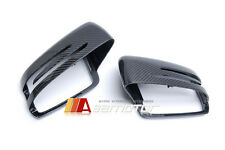 REPLACEMENT CARBON FIBER SIDE MIRROR COVER for MERCEDES C E S CLA CLS GLK CLASS