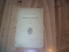 The Maryland Historical Society Annual Report For The Year 1901