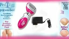 PED EGG POWERBALL RECHARGEABLE CALLUS REMOVER PEDICURE AS SEEN ON TV