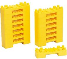 16 pcs Mini Block Bridge Support Girder, Takara Tomy rail, Plarail parts ,J15
