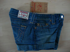 TRUE RELIGION Jeans ALLIE CLASSICS WOMEN Damen Jeans Short Gr.27 NEU mit ETIKETT