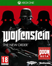 Wolfenstein The New Order ~ XBox One (in Great Condition)