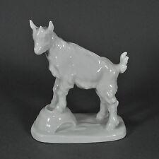 Meissen Ziege Zicklein Ziegenböckchen Goat Erich Hösel Figur figure porcelain