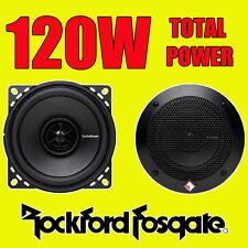 ROCKFORD FOSGATE 2-way 4 inch 10cm Auto Porta / scaffale COASSIALI ALTOPARLANTI 120W totale