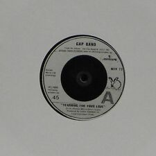 "GAP BAND 'YEARNING FOR YOUR LOVE' UK 7"" SINGLE"