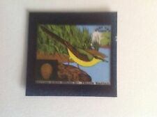 VINTAGE BLUE CAP CHEESE FLIXIES (TRANSPARENCY)BRITISH BIRDS SERIES YELLOW WAGTAI