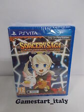 SORCERY SAGA CURSE OF THE GREAT CURRY GOD - SONY PSVITA - NUOVO SIGILLATO NEW