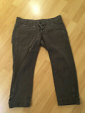 MISS SIXTY  CAPRI BROWN  DENIM JEANS  SIZE 29  !!!  PREOWNED !!!