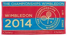 Official Wimbledon 2014 Ladies Towel - 70x133 Cotton Beach/Bath Towel - NEW
