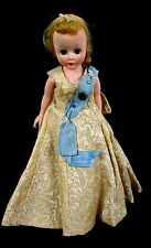 "Vintage 1950s Madame Alexander "" Cissette Queen Elizabeth "" No Crown Doll"