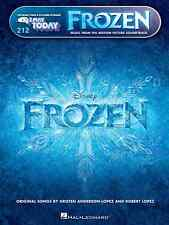 """""""FROZEN"""" E-Z PLAY TODAY #212 PIANO/KEYBOARD EASY MUSIC BOOK MOVIE BRAND NEW SALE"""