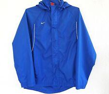 Nike fit storm men's blue jacket windbreaker M polyester